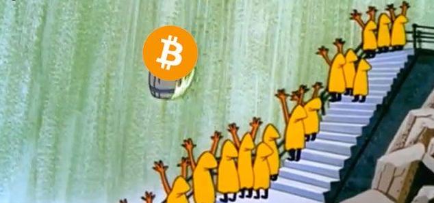 Bitcoin e demais criptomoedas tem queda expressiva nas últimas 48 horas